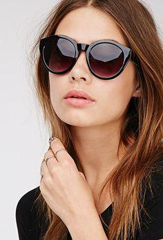 D-Frame Interior Print Sunglasses | FOREVER21 | #f21accessorize