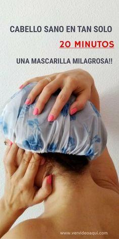 Como reparar el cabello maltratado en tan sólo 20 minutos #mascarilla #cabello #pelo #tips #maltratado