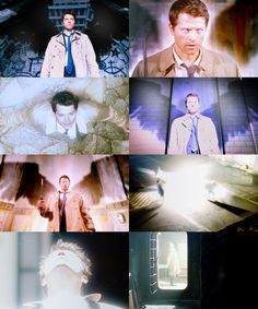I miss season 4 & 5 Castiel. His badassery needs more recognition. Andhissexhair.