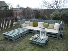 pallet garden furniture from ebay httpwwwebayco - Garden Furniture Crates