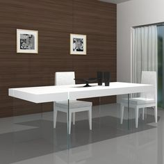 Found it at Wayfair - Cloud Modern Dining Table