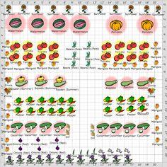 free 20 x 20 vegetable garden plan   Gardening   Vegetable ...