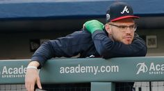 Braves Baseball, Baseball Players, Baseball Cards, Third Base, Could Play, Atlanta Braves, Sports, Twitter, Hs Sports