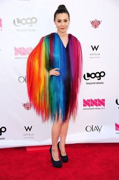 China Chow supports gay rights and hair?