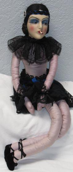 Boudoir Doll Flapper Doll Series