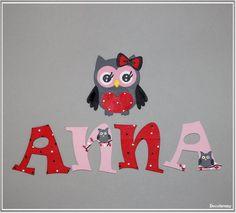 """Ideen zu """"Holzbuchstaben Kinderzimmer auf Pinterest Holzbuchstaben ..."""