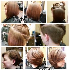 Haircut and style by Terry Boyd 636.527.2566