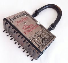 Anne Rice Vampire Chronicles Book Purse with Embellished Ribbon Beads - Vampire…