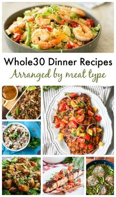 Eating Whole 30 doesn't have to be boring with these delicious dinner recipes! Whole30 Dinner Recipes, Delicious Dinner Recipes, Easy Cooking, Cooking Recipes, Healthy Recipes, Easy Recipes, Smoked Salmon Salad, Paleo Salmon Cakes, Healty Dinner