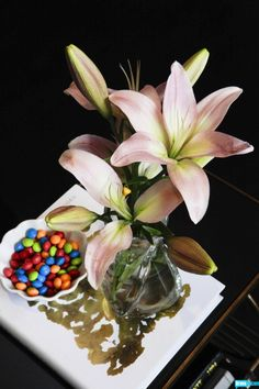 Interior Therapy with Jeff Lewis design tip: candy not only tastes delicious but can add a splash of color and fun to any room.