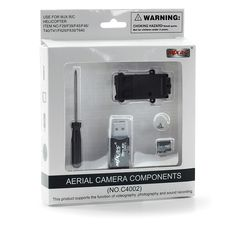 MJX Kamera C4002    Lieferzeit: ca. 2-5 Tage  35,00 EUR  inkl. 19% MwSt.    In den Warenkorb  Auf den Merkzettel    Bookmarken  Datenblatt drucken  Weiterempfehlen  ARTIKELBESCHREIBUNG      Mjx Camera (C4002)    Passend für MXJ Modelle F639, T640C, F645 F629    Lieferumfang  · 1 GB Micro SD Karte  · Schraubendreher,  · Schrauben  · Micro SD Kartenlesestick  · USB 2.0