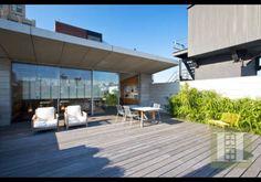 SoHo Triplex, New York City, New York New York City Apartment, Luxury Marketing, Rooftop Terrace, Wood Slats, Architect Design, Soho, Modern Decor, Luxury Homes, Building