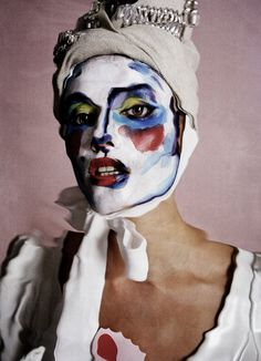 Natasha Poly photographed by Tim Walker and makeup artist Isamaya Ffrench for Love magazine, Spring Summer 2014 Tim Walker Photography, Natasha Poly, Love Magazine, Make Up Art, Foto Art, Fantasy Makeup, Victoria And Albert Museum, Beauty Editorial, Creative Makeup