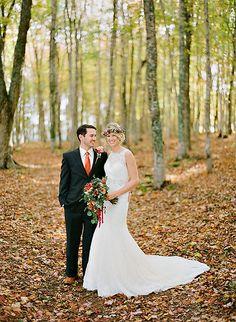 Bright Bronze Wedding Inspiration