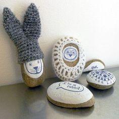 cute pebbles.