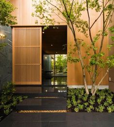 Amazing Timber Cladding Ideas to Spike up Your Building Design Architecture Design, Residential Architecture, Modern Japanese Architecture, Japanese Interior Design, Japan Architecture, Wooden Architecture, Architecture Interiors, Japanese Design, Design Exterior