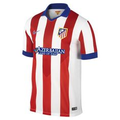 After last season's fairy tale campaign, Atletico Madrid will defend its La Liga crown in an all-new home top. Available now!