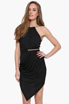Skyfall Little Black Dress in Black | Necessary Clothing