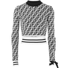 Fendi top - All About Stage Outfits, Kpop Outfits, Mode Outfits, Fall Outfits, Fashion Outfits, Womens Fashion, Fendi Sweater, Fendi Clothing, Virtual Fashion
