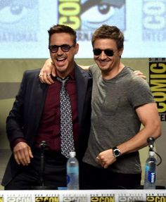Jeremy and Robert - San Diego Comic Con - July 26, 2014