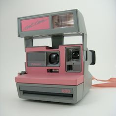 Polaroid Pink Cool Cam (600 Film). $38.00, via Etsy.