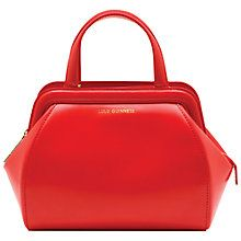 f7aa7c1e599b Buy Lulu Guinness Small Paula Polished Leather Shoulder Bag