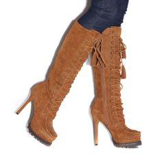 MY kinda hiking boots. LOL!