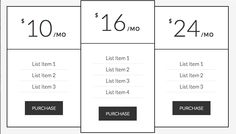 Add Pricing Table in Any WordPress Theme—Step-by-step tutorial; CSS; HTML code; Details.
