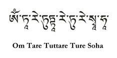 Om Tare Tuttare Ture Svaha | .Portal Holus - Escola Flor da Vida