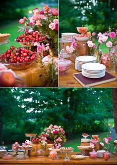 cake/pie table