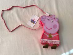 M&S kids girls peppa pig shoulder bag