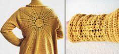 DIY Häkelprojekt: Häkeljacke Winter Solstice - haus of crochet #drops #design #crochet #häkeln