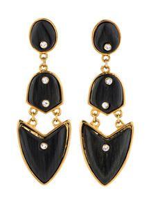 Kara by Kara Ross Arrowhead Earrings