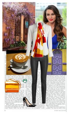 Bogota by lj-case on Polyvore featuring polyvore, мода, style, NIC+ZOE, Iris & Ink, Christian Louboutin, Givenchy, Burberry, fashion and clothing