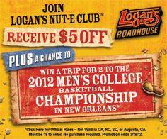 $5 Logan's Roadhouse