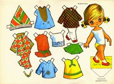 Kathleen Taylor's Dakota Dreams: Thursday Tab- Victoria, Spanish Dolls from 1979 Baby Alive Dolls, Sport Weight Yarn, Clothespin Dolls, Vintage Paper Dolls, Crochet Bunny, Retro Toys, Sweet Memories, Paper Toys, Amigurumi Doll