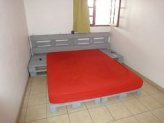 Anleitung , wie man ein Bett mit Paletten machenMobel aus Paletten | Mobel aus Paletten