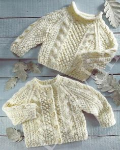 64b6bb459bb12 PDF Instant Digital Download baby child aran cardigan   sweater 16 to 26  inch chest 0