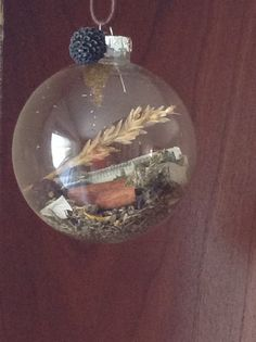 Witch's ball - hang in the home for blessings all year...