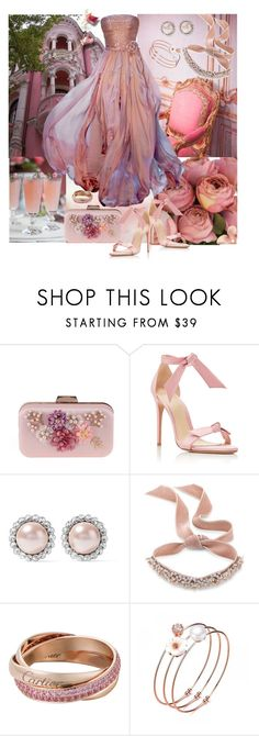 """Waiting for my Prince..."" by sherrysrosecottage-1 ❤ liked on Polyvore featuring Elie Saab, WithChic, Alexandre Birman, Miu Miu, Fallon, fashionset and ElieSaabGowns"