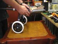 Carro-Silla de ruedas para un perro. - YouTube