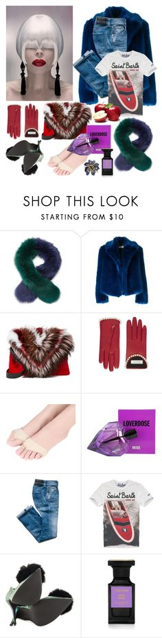 """""""After the first day at gym"""" by didesi ❤ liked on Polyvore featuring Charlotte Simone, Dries Van Noten, Elena Ghisellini, Gucci, Diesel, MC2, Privileged, Tom Ford and Alexis Bittar"""
