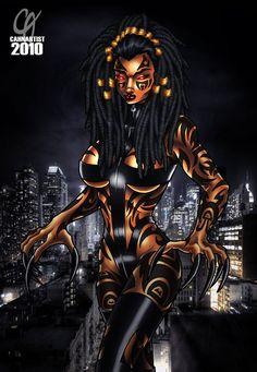 Fuck Yea Black Women Art!, Kasha by ~Cahnartist