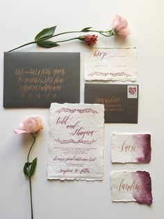 Inspiring Calligraphers: Double Dipped Calligraphy