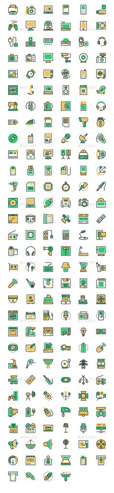 FEATURES178 Icons 6 Different file formats (AI, EPS, PDF, PNG, SVG, JPG) Separated PNG and SVGs of each icon Layered and Grouped C