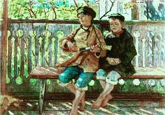 Talant and Admirer - Nikolay Bogdanov-Belsky