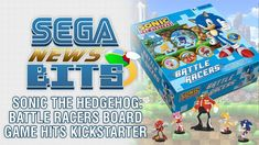 SEGA News Bits: Sonic the Hedgehog: Battle Racers board game Kickstarter launches -  Yesterday it was announced that Sonic the Hedgehog would in fact be seeing a new game in 2018 – the twist being that it was a board game. On this SEGA News Bits, George takes a closer look at the Kickstarter for Sonic the Hedgehog: Battle Racers and points out the positive and negatives of the c... http://www.sonicretro.org/2018/02/sega-news-bits-sonic-the-hedgehog-battle-racers-board-game