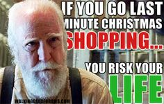 Last minute Christmas shopping...