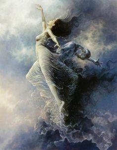 Surreal Depictions of Human Nature Versus the Universe - Polish painter Tomasz Alen Kopera Art Visionnaire, Surrealism Painting, Mystique, Visionary Art, Human Nature, Fantasy Artwork, Surreal Art, Celestial, Dark Fantasy