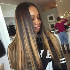 Timelessbeautyhair Traditional Sew In Custom Color Hair pertaining to measurements 1080 X 1080 2 Color Weave Hairstyles - Weaving hairstyles are probably Dope Hairstyles, Black Girls Hairstyles, Weave Hairstyles, Pretty Hairstyles, Straight Hairstyles, Love Hair, Gorgeous Hair, Balayage Blond, Balayage Straight